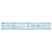 Baby Blue Stitching 3.7m Foil Banner