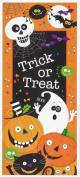 Spooky Smiles Door Poster