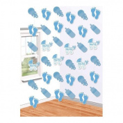 Amscan International Baby Boy Hanging String Decorations, Pack of 6