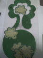 St Patrick's Day Hanging Swirl Shamrock Decoration mobile