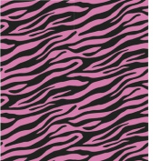 "Printed Gift Wrap 1.5mX30"" Roll-Zebra Passion"