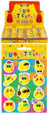 Smile Face Stickers