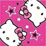 """Hello Kitty Pink Party Napkins, pack of 16 [Toy]"""