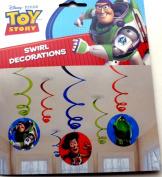 Amscan International Toy Story Hanging Swirls