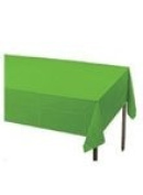 Table Cover Emb S/C:Lime Green