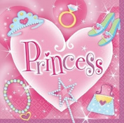 Amscan International Napkins Princess Luncheon