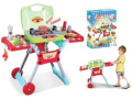 Childrens, Kids Toy BBQ, barbecue Set with sounds and light great Toy Set