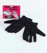 Black Men's Magician Gloves