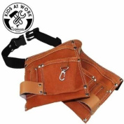 Tool Belts - Sale for children . 2 Pouches, real leather. AA600093 ca 105cm