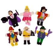 Bigjigs Toys BJ780 Entertainers Finger Puppets