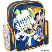 Disney Pixar Toy Story Backpack - Toddler School Bag Size with Two Side Pocket