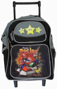 Mario Kart Small BackPack - Mario Kart Small Rolling School Bag