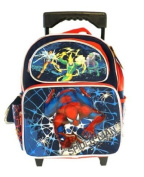 SpiderMan Small BackPack - Spider Man Small Rolling School Bag