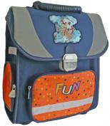 amaro Pit Children's School Bag 32 x 35 x 14.5 cm Blue