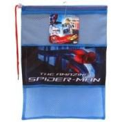 Kids Disney Boys Spiderman Storage Drawstring Tidy School P.E Gym Swimming Bag