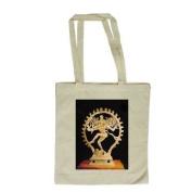 Shiva Nataraja (bronze) by Indian School - Long Handled Shopping Bag