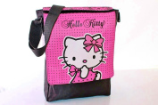Hello Kitty - Pink Lace Large Courier Bag / Despatch / Messenger School Bag