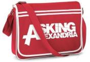 Official ASKING ALEXANDRIA Messenger Bag Logo SCHOOL