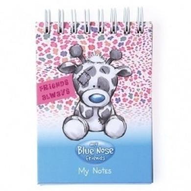 A7 Twiggy the Giraffe My Blue Nose Friends Notebook