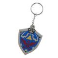 Nintendo Rubber Key Ring Legend of Zelda Hyrulian Crest 7cm