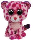 Ty Beanie Boo 15cm Plush - Pink Leopard Glamour