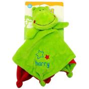 Safari Friends Harry Baby Plush Rattle Comfort Blanket