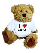 Teddy Bear with I Love Jaffa t-shirt