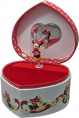 Musical minnie mouse jewellery box by minnie mouse shop for Minnie mouse jewelry box