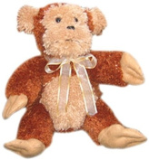 Huggables Monkey Stuffed Toy Latch Hook Kit-38cm Tall