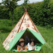 Wigwam Teepee Play Tent -Canvas - Cowboys & Indians