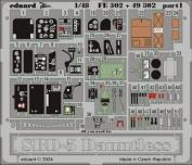 Eduard Photoetch (Zoom) 1:48 - SBD-5 (Accurate Miniatures) - EDPFE302