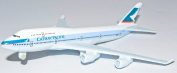 Boeing 747 Cathay Pacific Metal Plane Model 16cm