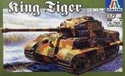 Italeri WW2 German King Tiger - 1/72 Plastic Model Tank Kit