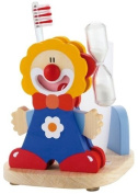 Sevi Le Cirque - Toothbrush Timer and Holder Blue Clown
