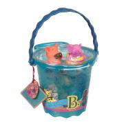 B. Toys Squirts Bucket Of Bath Toys