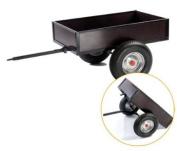 DINO Tipper Trailer - Spoke wheels