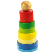 Bigjigs Toys BB033 Circular Stacking Tower