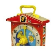 Fisher Price Teaching Clock by Sababa Toys