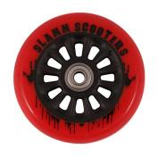 Slamm Pro Scooter Nylon Core Wheel and bearings - Red