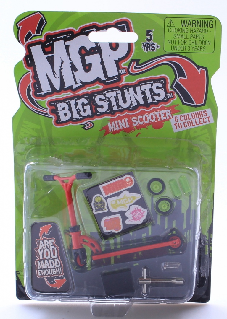 MADD MGP Big Stunts Mini Finger Scooter - Finger Whip Toy