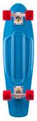 Penny Nickel Complete Skateboard - Blue/Red