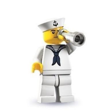 LEGO Collectable Minifigures: Sailor Minifigure (Series 4)
