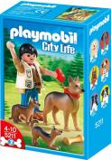 Playmobil - German Shepherd with Puppies 5211