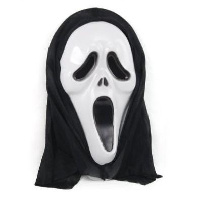 Halloween Cosplay Horror Scream Ghost Skull Face Mask Fancy Party Dress Costume
