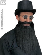 Beard withMoustache Lips Black Fake False Beards for fancy Dress Costumes Outfits Accessories Accessory