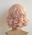 2013 New Kanekalon Short BOB Style Wavy Heat Resistant Kanekalon Hair Wig Wigs Pink K066