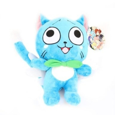 FAIRY TAIL - Happy Plush Doll 30cm includes.