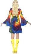 Smiffy's Women's 1960's Tie Dye Dress Costume