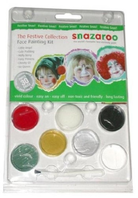 Snazaroo Festive Face Painting Kit