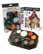 Snazaroo Face Paint Palette Kit - Halloween